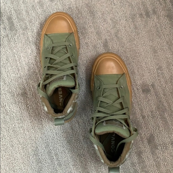 Converse Shoes | Army Green Converse